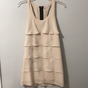 Love notes blush colored dress